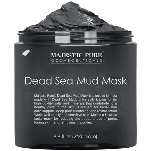 Majestic Pure Dead Sea Mud Mask Best Korean Skincare Products For Combination Skin
