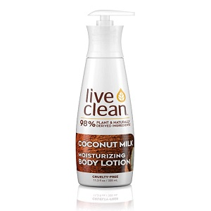 Live Clean Body Lotion